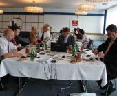 Odborné komise vedli Stanka Herjavec (předchozí foto), Jože Protner, Julij Nemanič (zde)...