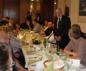 Slavnostní večeře a zdravice ředitele hotelu Lubomíra Bárty