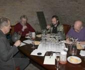 Tříhodinové laické hodnocení sektů, rosé a likérových vín v předvečer výstavy