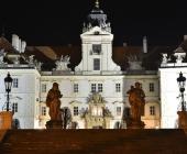 Valtický zámek v předvečer hodnocení odborné jury